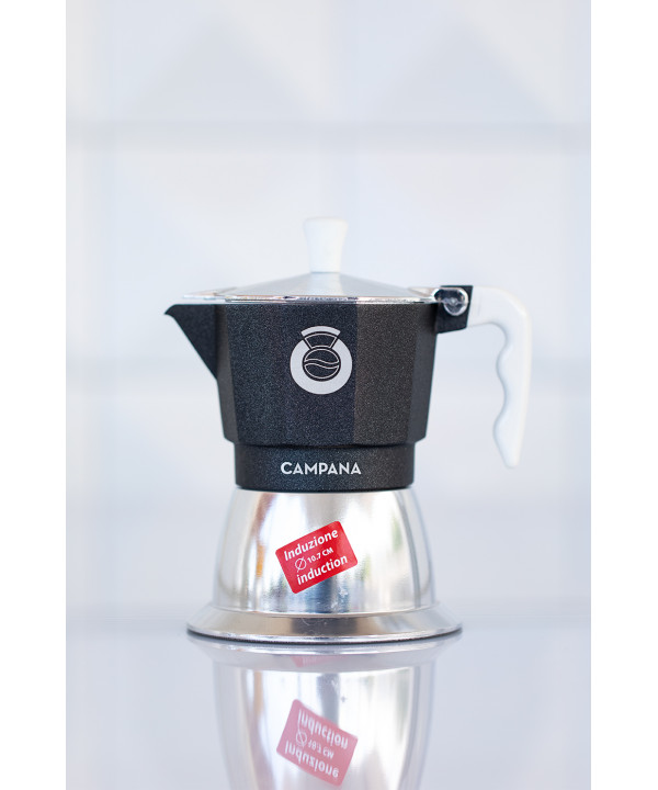 moka induction Campana coffee